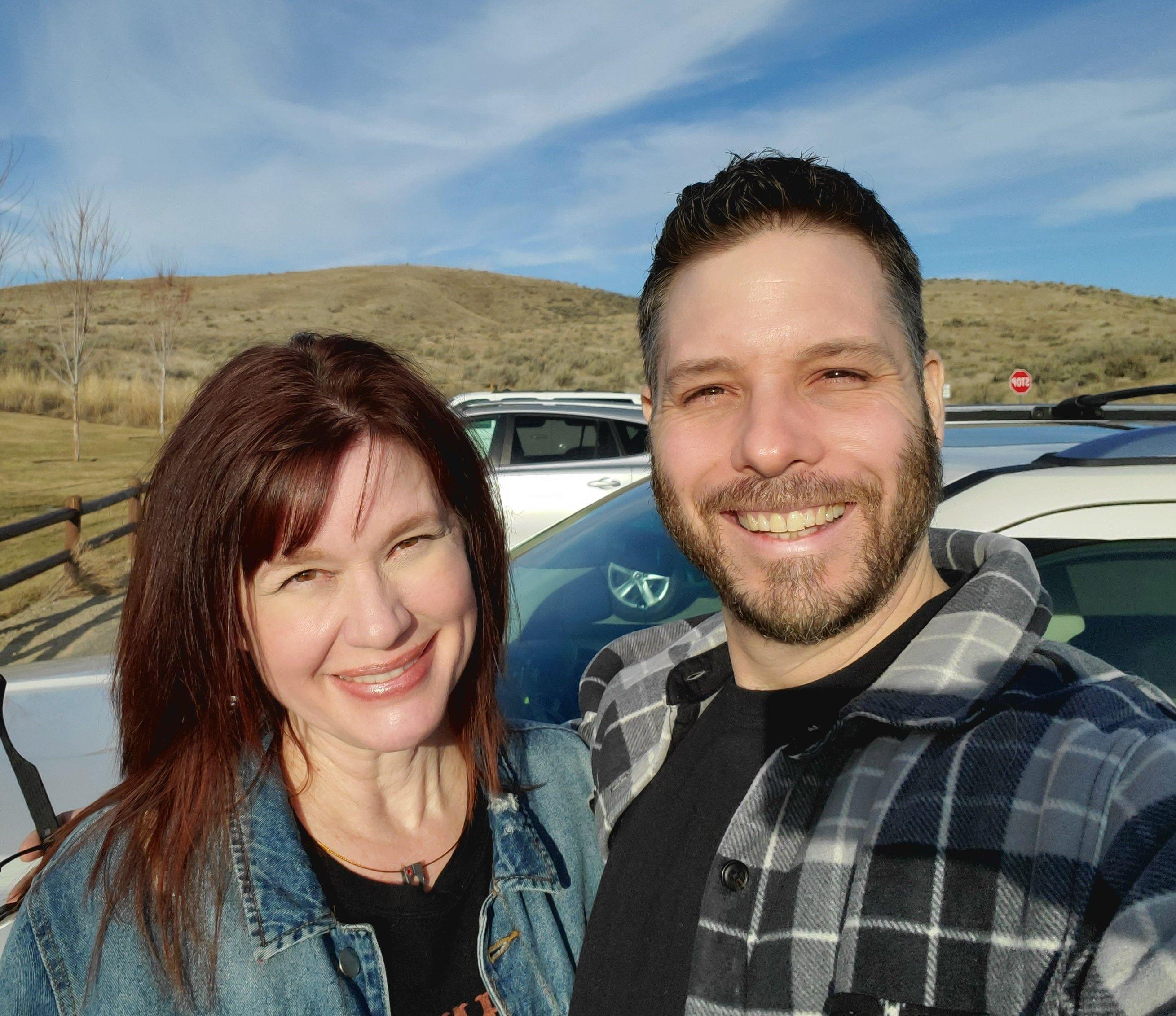 Brandi Wolf and her husband, Matt