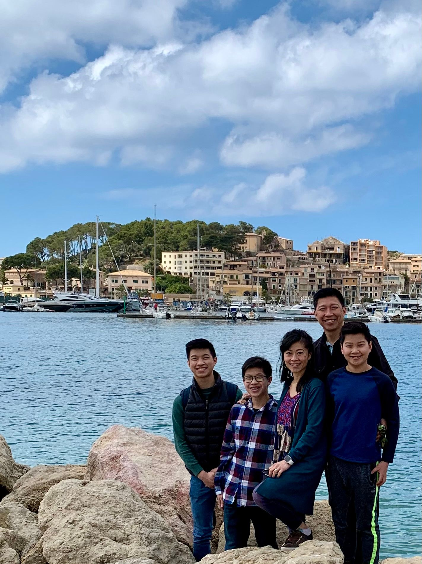 Area Director with her family on vacation.