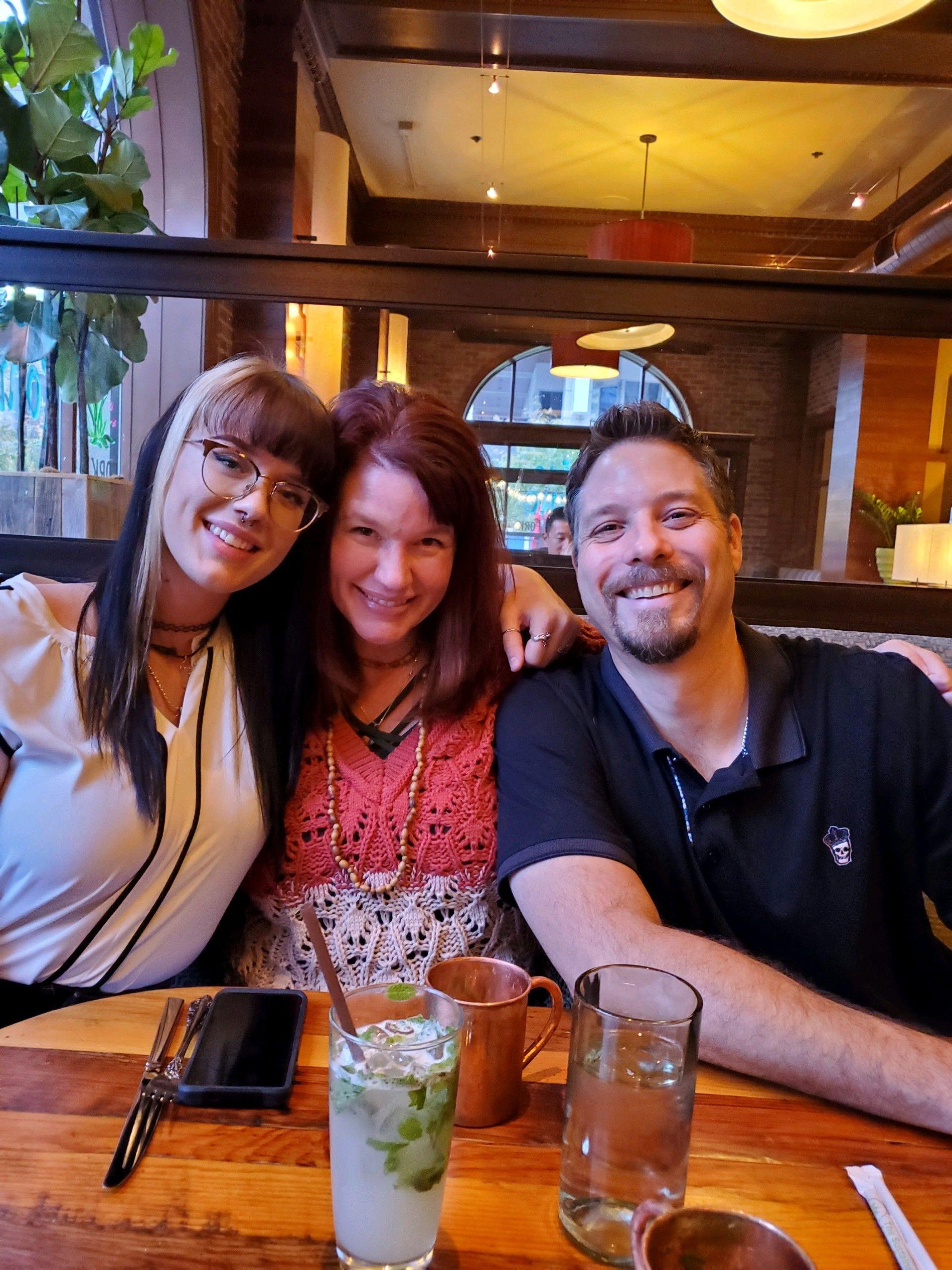 Brandi, Matt, and her daughter, Lexi