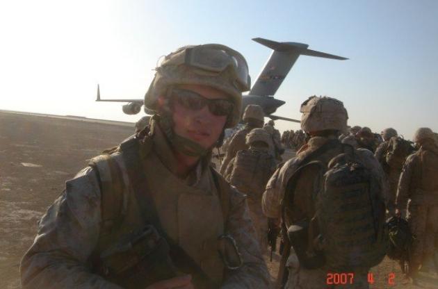 JR Spear serving overseas.