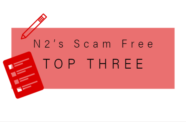 Scam Free Top Three Graphic