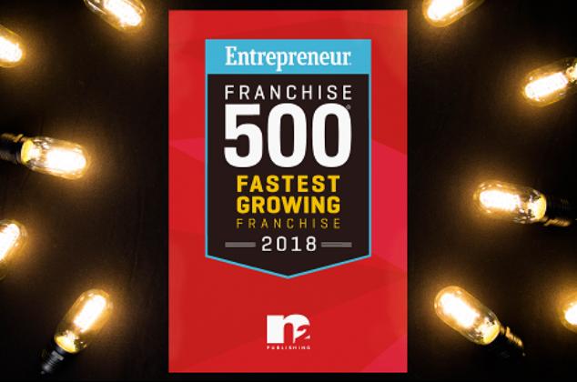 N2 Award for Entrepreneur Franchise 500