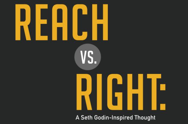 Reach Vs. Right Graphic